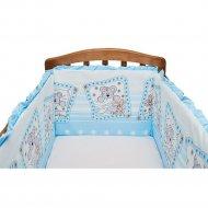 Бортик «Fun Ecotex» Милые сони, 10140, голубой