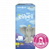 Детские подгузники-трусики «Elibell» L, 9-14 кг, 44 шт.