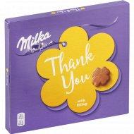 Конфеты шоколадные «Milka» с молочной начинкой, 110 г.