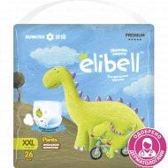 Детские подгузники-трусики «Elibell» XXL, 15-26 кг, 26 шт.
