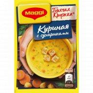 Суп «Maggi» куриный c сухариками, 19 г