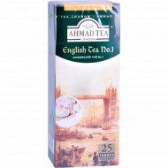 Чай чёрный «Ahmad Tea» 25 пакетиков.