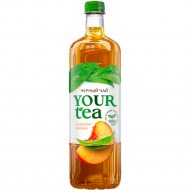 Напиток «Your tea» черный чай со вкусом персика, 1 л