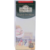 Чай черный «Ahmad Tea» английский завтрак, 25 пакетиков.