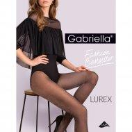 Колготки женские «Gabriella» Lurex, 20 den, размер 2, Nero