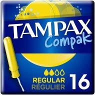 Женские гигиенические тампоны «Tampax Compak Regular» 16 шт.