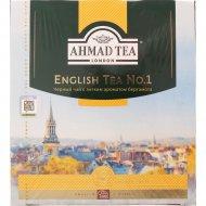 Чай черный «Ahmad Tea» 100 пакетиков.