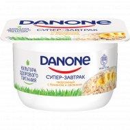 Продукт творожный «Данон» с бананом и овсом 3.2 %, 130 г.