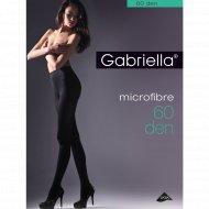 Колготки женские «Gabriella» Microfibre, 60 den, размер 3, черный