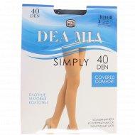 Колготки женские «Dea Mia» Simply, 40 Den, размер 3, Nero