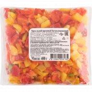 Перец сладкий «Moka» нарезанный, 0.4 кг.