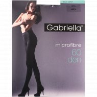 Колготки женские «Microfibre» 60 den, 4 размер, черный.