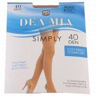 Колготки женские «Dea Mia» Simply, 40 Den, размер 4, Bronz
