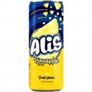 Напиток сокосодержащий «Alis» с кусочками ананаса, 240 мл