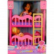 Куклы «Shantou Yisheng» K899-17 «Сестрички» с игрушечной мебелью