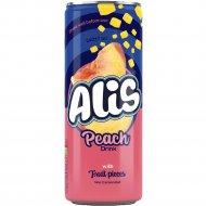 Напиток сокосодержащий «Alis» с кусочками персика, 240 мл