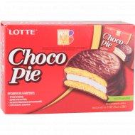 Печенье «Choco Pie» 112 г (28 г х 4 шт).