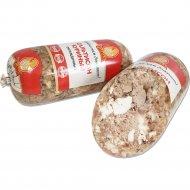 Продукт из мяса птицы «Сальтисон куриный» вареный, охлажденный, 550 г.