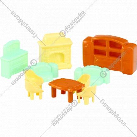 Набор мебели для кукол «Полесье» №3, 10 элементов.