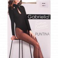 Колготки женские «Gabriella» Puntina, 20 den, размер 2, бежевый