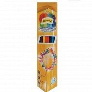 Цветные карандаши «Silwerhof» Солнечная коллекция, 12 шт.