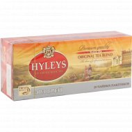 Чай черный «Hyleys» эрл грей, 25х2 г.