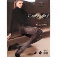 Колготки женские «Camila» 80 den, 2 размер, cерый.