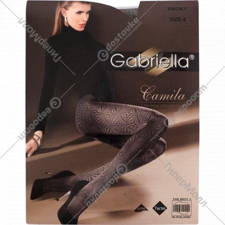 Колготки женские «Camila» 80 den, 4 размер, cерый.