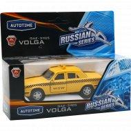 Машинка «ГАЗ-31105«Волга» такси 1:43.