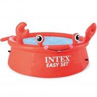 Надувной бассейн «Intex» Easy Set Happy Crab, 26100NP