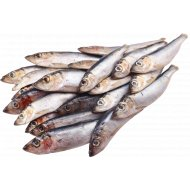 Салака «РыбаХит» неразделанная свежемороженая 1 кг., фасовка 1-1.1 кг