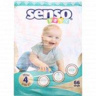 Подгузники «Senso» размер 4, 7-18 кг, 66 шт.