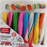 Набор ластиков «Spiral» 16 штук.