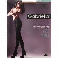 Колготки женские «Gabriella» 60 den, 3 размер, капучино.