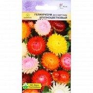 Семена Гелехризум прицветниковый «Крупноцветковый» 0.3 г.