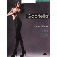 Колготки женские «Gabriella» 60 den, 4 размер, капучино.