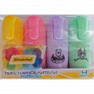 Набор текстовыделителей «Monster Pastel» 4 цвета.