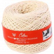 Пряжа для ручного вязания «Cotton» суровая.