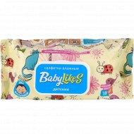 Салфетки влажные для детей «Baby likes» для мальчиков, 100 шт.