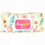 Салфетки влажные для детей «Baby likes» для девочек, 100 шт.