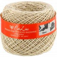 Пряжа для ручного вязания «Cotline» суровая.