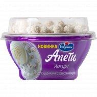 Йогурт «Апети» с шариками с кокосовым вкусом, 5%, 105 г.