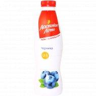 Продукт йогуртный «Ласковое лето» черника, 1.5 %, 930 г.