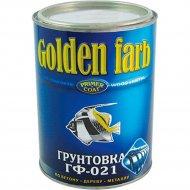 Грунтовка «Golden Farb» ГФ-021, красно-коричневый, 0.9 кг