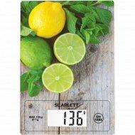 Весы кухонные «Scarlett» SC-KS57P21.