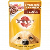 Корм для собак «Pedigree» с говядиной и ягненком 100 г.