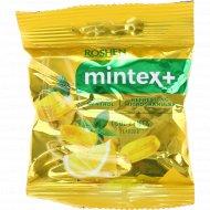 Карамель «Mintex+» Cool Lemon, лимон и ментол, 20 г.