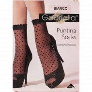 Носки женские «Puntina» 20 den, белый, размер 23-27