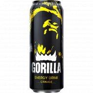 Напиток энергетический «Gorilla» с соком апельсина, 0.45 л.