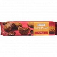 Печенье сдобное «Эсмеральда» Soft Heart Choko, с начинкой, 170 г.
